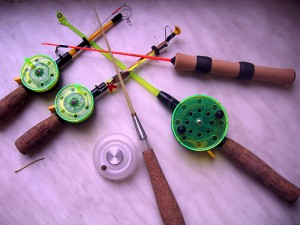 Поплавочная удочка для ловли мирной рыбы