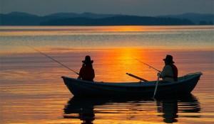 Рыбачить здесь можно круглый год