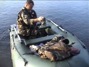 Техника ужения с лодки